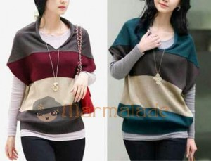 Kylia Bahan Rajut. All Size Fit to L @ Rp 45.000