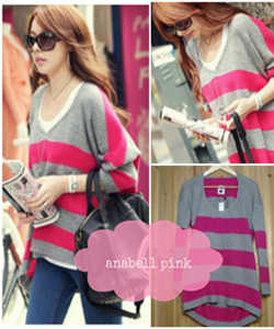 anabell pink Rp 35.000