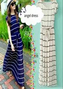 angel dress  Rp 40.000
