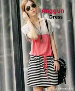 anggun dress  Rp 35.000