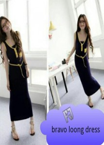 bravo long dress  Rp 41.000