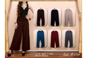 Celana Kulot  All Size Bahan Spandex Rayon & Jersey Polos &Motif Rp 50.000