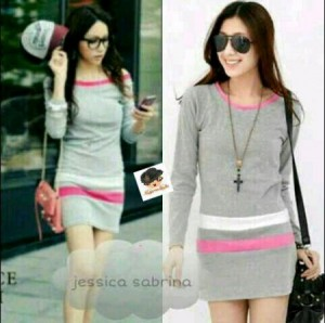 Jessica Bahan Rajut. All Size Fit to L @ Rp 40.000