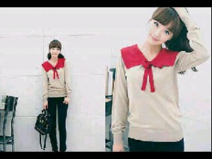 Keiko Bahan Rajut. All Size Fit to L @ Rp 40.000