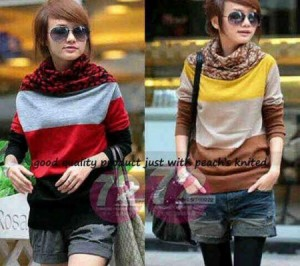 Moiko Bahan Rajut. All Size Fit to L @ Rp 45.000