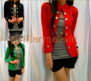 Olivia Bahan Rajut. All Size Fit to L @ Rp 40.000