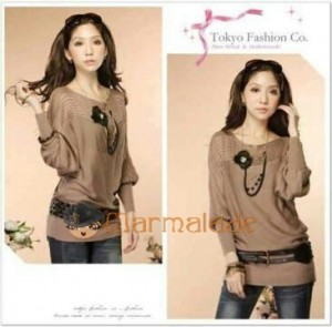 Paula Bahan Rajut. All Size Fit to L @ Rp 45.000