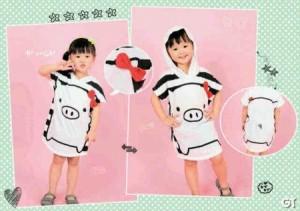 Piggy Monokurobo  all size untuk usia 7-8 tahun Rp 44.000