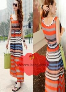 shireen longdress  Rp 41.000