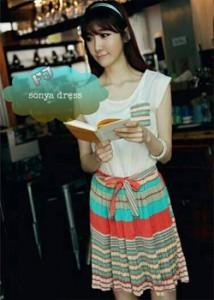 sonya dress  Rp 38.000