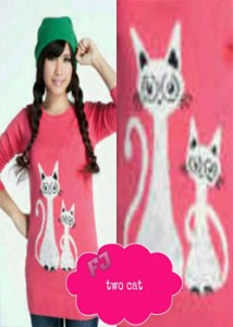two cat Rp 40.000