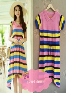 youri dress  Rp 38.000