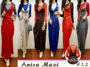 Annisa Maxi All Size Fit L Mat. Spandex Rayon Rp 120.000