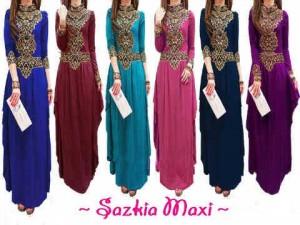 Sazkia Max1 All Size Fit XL Mat. Spandex Rayon Rp 120.000