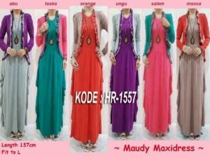 Maxi Dress All Size Fit L Rp 120.000