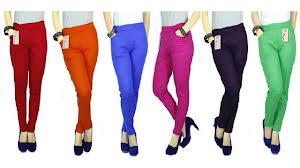 Celana Legging Bahan Denim dan Spandex Rayon Rp 45.000