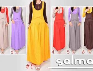 Salma Maxi + Inner All Size Fit L Mat. Spandex Jersey Rp. 120.000