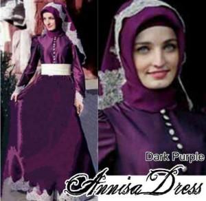 Annisa Dress+phasminah.  @ 105ribu(bahan jersey) min 3pcs